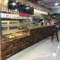 惠州惠阳定做水吧工作台 奶茶店设备全套 不锈钢奶茶操作台冷藏水吧台商用